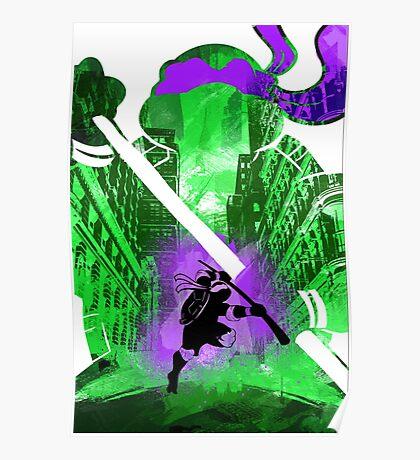 Donatello Ninja Turtle Poster
