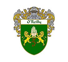 O'Reilly Coat of Arms / O'Reilly Family Crest Photographic Print