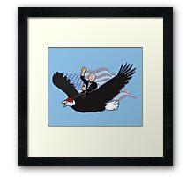 Larry David in America Framed Print