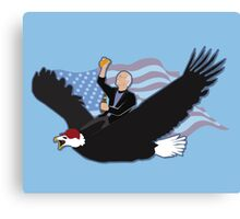 Larry David in America Canvas Print