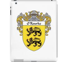 O'Rourke Coat of Arms / O'Rourke Family Crest iPad Case/Skin