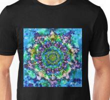 Tie Dye Teal Mandala Unisex T-Shirt