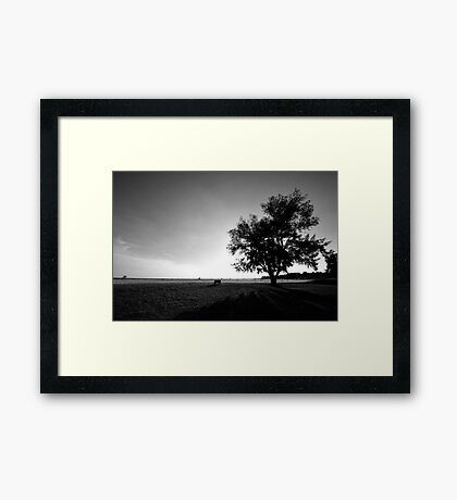 Open View Vast Location Framed Print