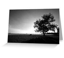 Open View Vast Location Greeting Card