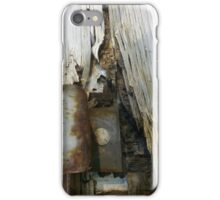 Rust and Splinters iPhone Case/Skin
