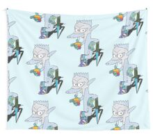 Qart Hedgeson. [Unseeing Edition] Wall Tapestry