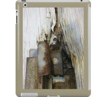 Rust and Splinters iPad Case/Skin