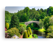 Doon Bridge Canvas Print