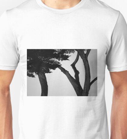 Monterey Cypress II BW Unisex T-Shirt