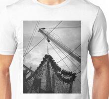 New Bedford Waterfront XVII BW Unisex T-Shirt
