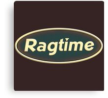 Vintage Ragtime Canvas Print