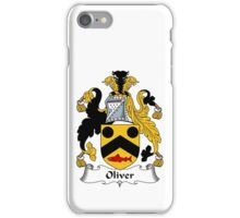 Oliver Coat of Arms / Oliver Family Crest iPhone Case/Skin