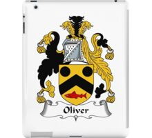 Oliver Coat of Arms / Oliver Family Crest iPad Case/Skin