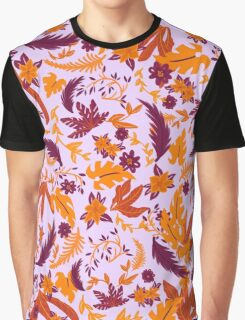 Tropical Fall Graphic T-Shirt