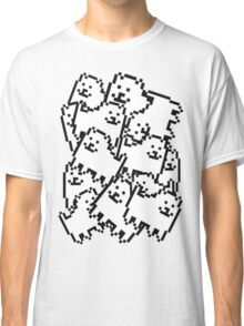 Undertale annoying dog collage Classic T-Shirt