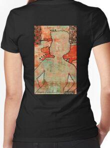 Gracefully Genteel Women's Fitted V-Neck T-Shirt