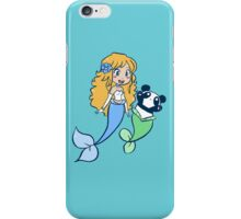 Mermaid and MerPanda iPhone Case/Skin