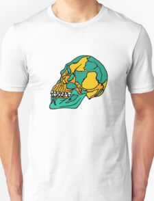 Anatomical Skull - version two (Done by Tablet) Unisex T-Shirt