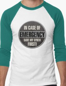Save my synth Men's Baseball ¾ T-Shirt