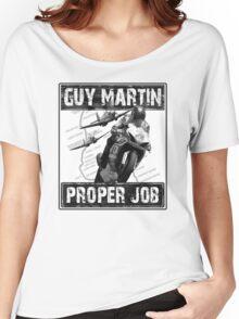 Guy Martin 'Proper Job' design Women's Relaxed Fit T-Shirt