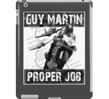 Guy Martin 'Proper Job' design iPad Case/Skin