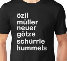 German Team 2 Unisex T-Shirt