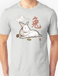 Lionhead Rabbit Sumi-E T-Shirt