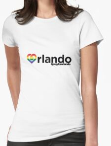 Orlando. Womens Fitted T-Shirt