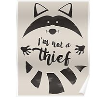 I'm not a thief Poster