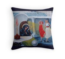 Pray for us, sinners ...! Throw Pillow