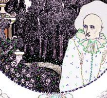 Pierrot Lunaire of the Minute Sticker