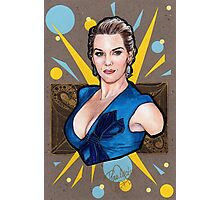 Kate Winslet Watercolor portrait Photographic Print