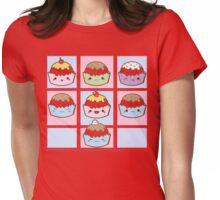 MGM- CupCakes Ready Womens Fitted T-Shirt