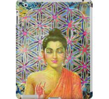 Sacred Geometry Buddha iPad Case/Skin