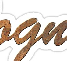 Rusty bogner amps Sticker