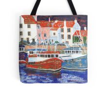 Pittenweem Harbour 2 Tote Bag