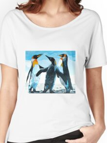 Three Penguins Women's Relaxed Fit T-Shirt