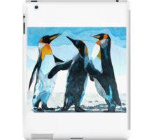 Three Penguins iPad Case/Skin