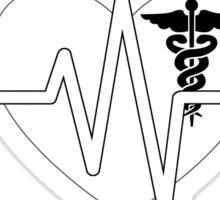 Hot Nurse Stops Your Ticker Sticker