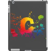 Cosplay Flag/symbol black iPad Case/Skin