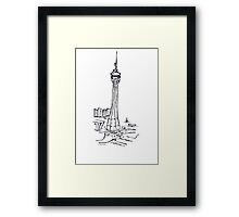 Macau Tower Framed Print