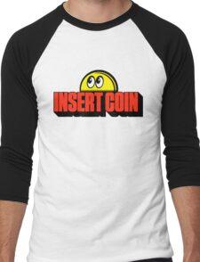 Insert Coin retro arcade Men's Baseball ¾ T-Shirt