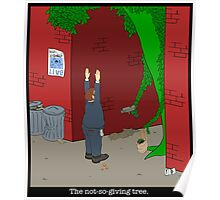 Not-so-giving tree Poster