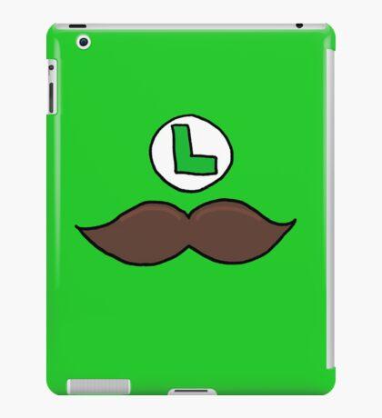 Luigi Moustache iPad Case/Skin