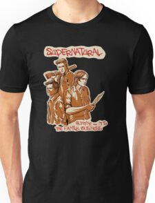 Supernatural - Hunting is the Family Business Unisex T-Shirt