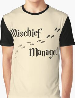 Mischief Managed Graphic T-Shirt