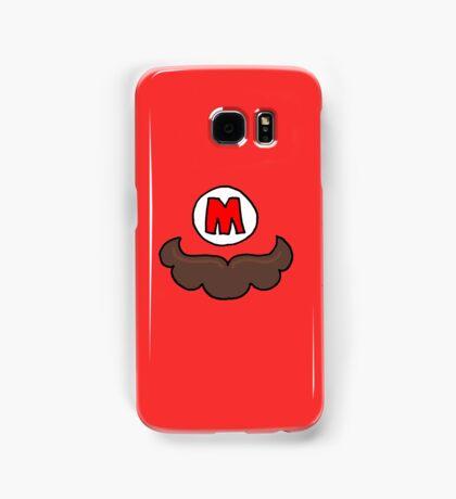 Mario Moustache Samsung Galaxy Case/Skin