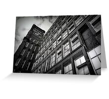 Wall Of Windows Greeting Card