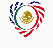 Mexican American Multinational Patriot Flag Series 2.0 Unisex T-Shirt