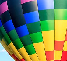 Hot Air Balloons Quechee Vermont by Edward Fielding